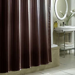 Damask Stripe Fabric Shower Curtain Liner
