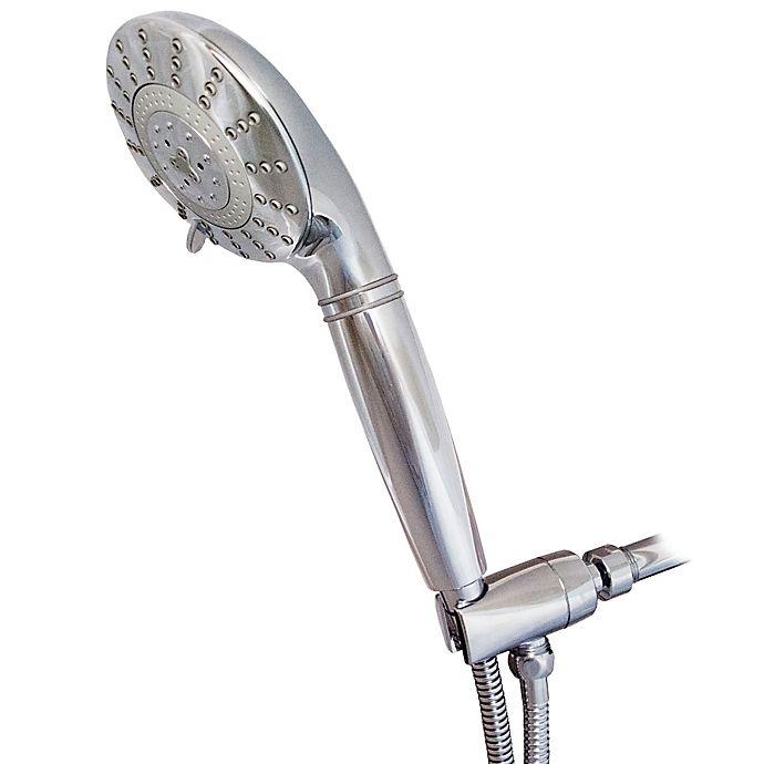 Alternate image 1 for Sprite® 7-Spray Filtered Handheld Showerhead in Chrome
