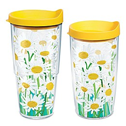 Tervis® Painted White Daisies Wrap Tumbler with Lid