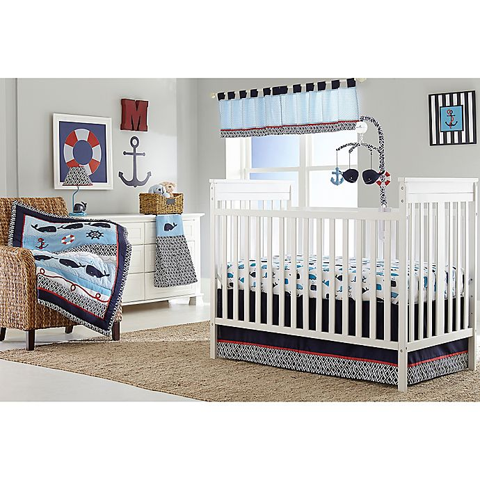 Nautica Kids Whale Of A Tale Crib Bedding Collection Bed Bath
