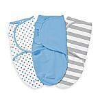 SwaddleMe® Original Swaddle Small/Medium 3-Pack Blue Stars and Stripes