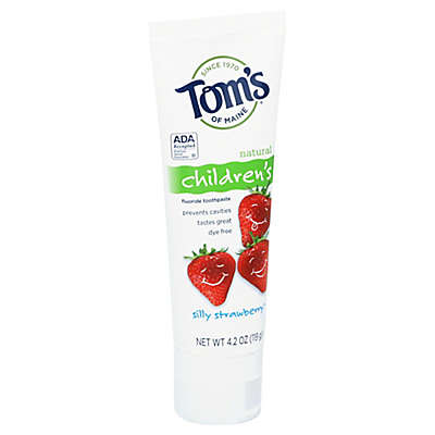 Tom's of Maine® 4.2 oz. Silly Strawberry Natural Children's Anticavity Toothpaste