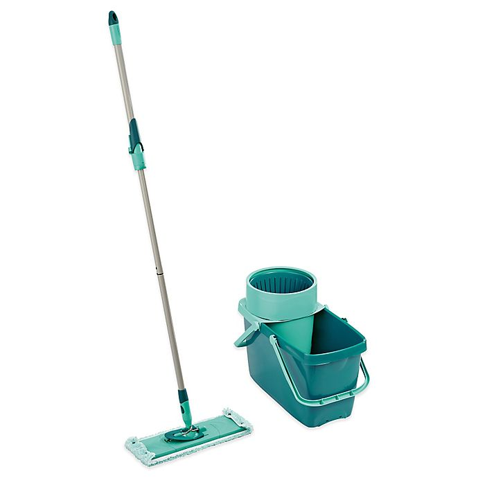 Alternate image 1 for Leifheit Clean Twist XL Rectangle Mop & Sweeper Set