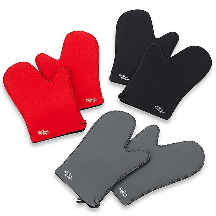 Duncan S Kitchen Grips 2 Piece Oven Mitt Set