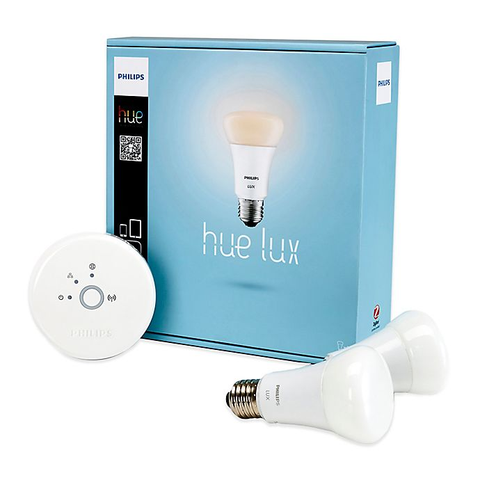 Philips Hue Lux Bulb Starter Kit Bed Bath Amp Beyond