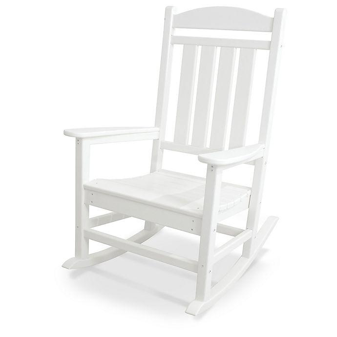 Alternate image 1 for POLYWOOD® Presidential Rocker in White