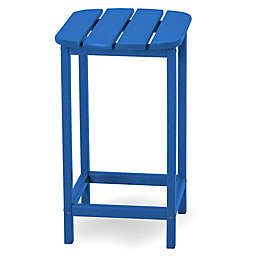 POLYWOOD® South Beach 26-Inch Counter Side Table in Pacific Blue