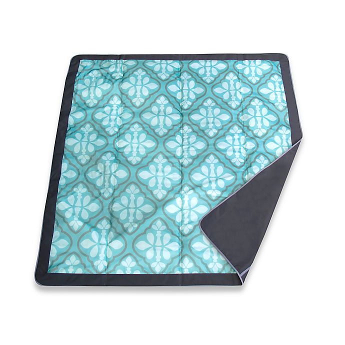 Alternate image 1 for JJ Cole® All-Purpose Outdoor Blanket in Blue Iris