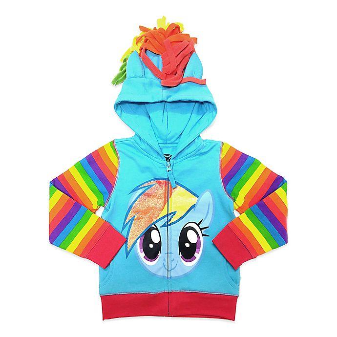 6a79897a72 My Little Pony® Rainbow Dash Embellished Hoodie   Bed Bath & Beyond