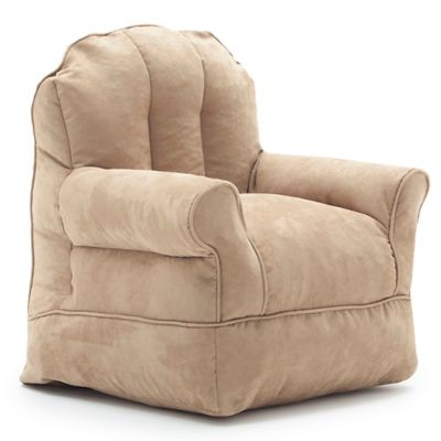 Comfort Research Big Joe Bubs Microsuede Bean Bag Armchair