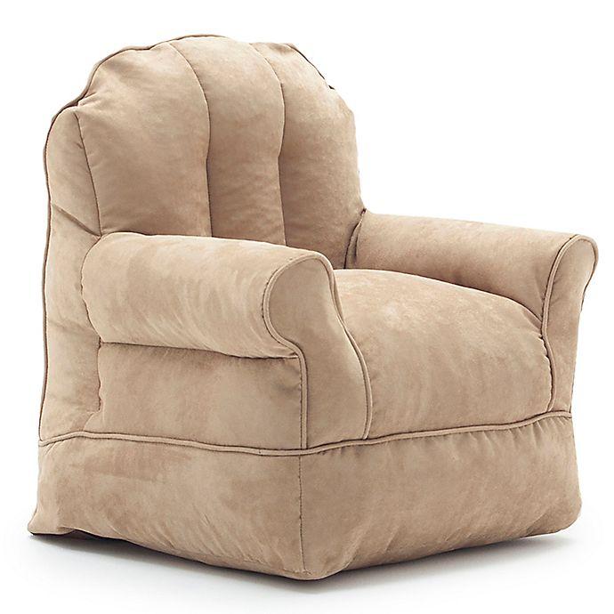 Comfort Research Big Joe Bubs Microsuede Bean Bag Armchair