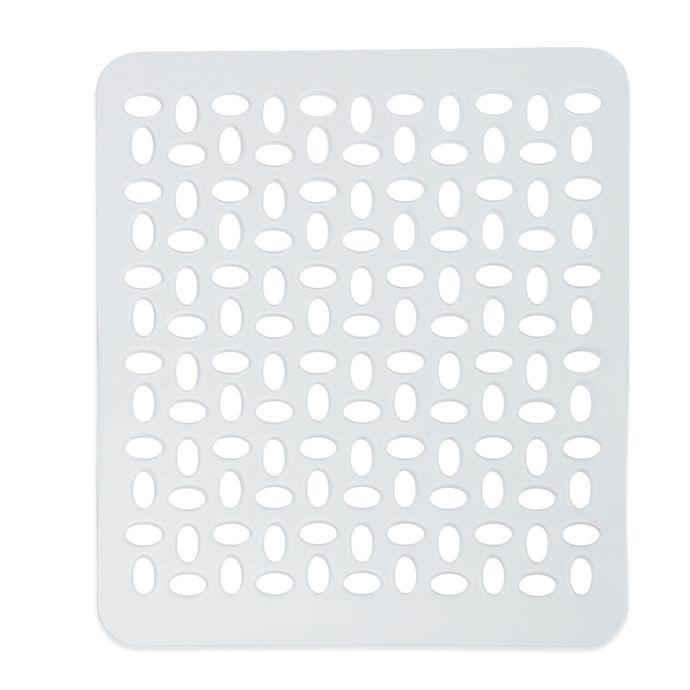 Alternate image 1 for InterDesign® Sinkworks Small Clear Sink Mat