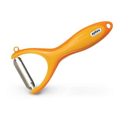 Zyliss® Stainless Steel Julienne Peeler in Orange