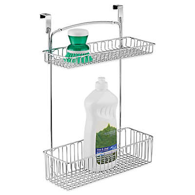 iDesign® Classico Over-the-Cabinet 2-Tier Basket
