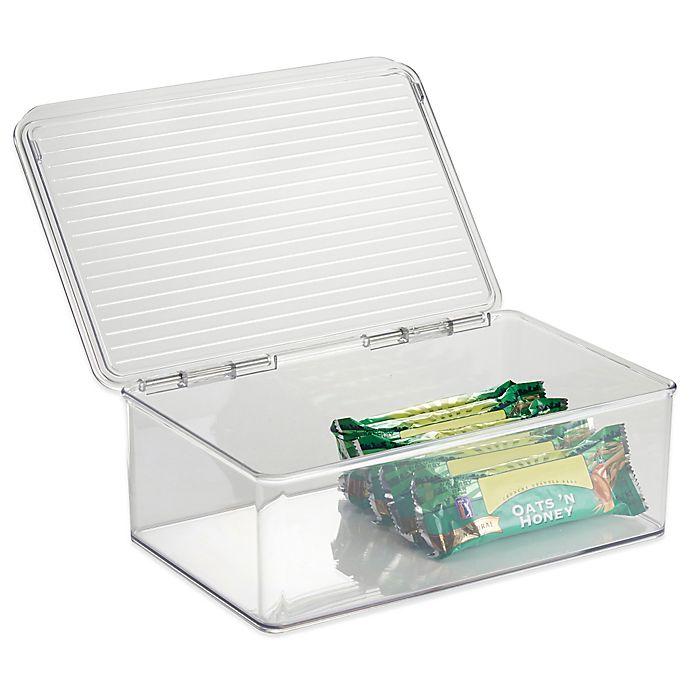 Alternate image 1 for iDesign® Cabinet Binz™ Stackable Storage Box