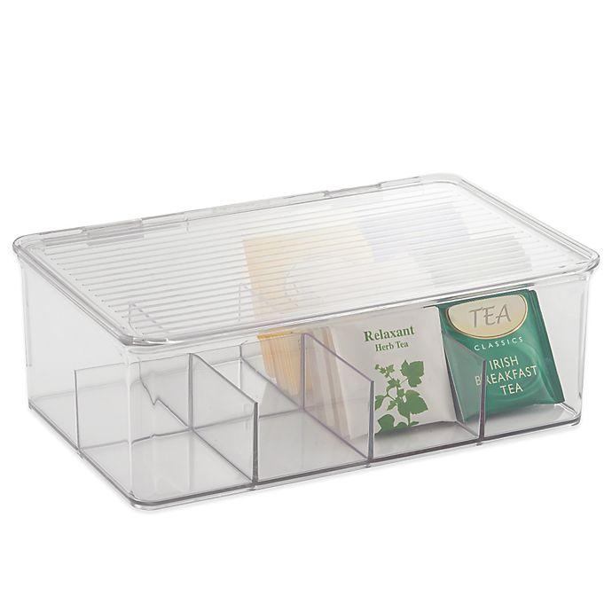 Alternate image 1 for iDesign® Cabinet Binz™ Tea Box