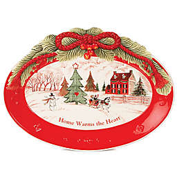 Christmas Platters And Trays.Holiday Serveware Christmas Platters Bowls Trays Bed