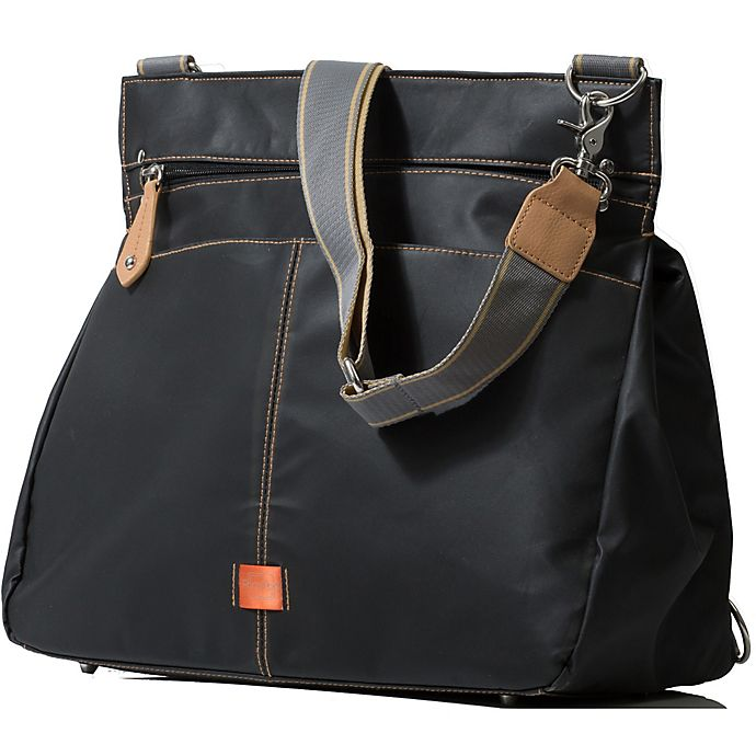 Alternate image 1 for PacaPod Oban Diaper Bag in Black