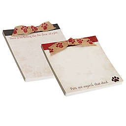 CR Gibson Pet Deluxe Notepad with Ribbon