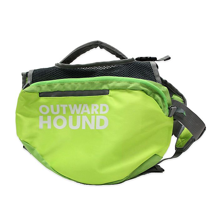 Alternate image 1 for Outward Hound® Quick Release Dog Backpack