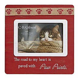 """CR Gibson """"The Road To My Heart"""" Wood Frame"""