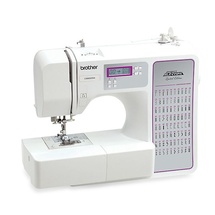 Brother CS8800PRW Project Runway Computerized Sewing Machine   Bed ...