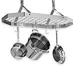 Cuisinart® Brushed Stainless Steel Octagonal Hanging Pot Rack