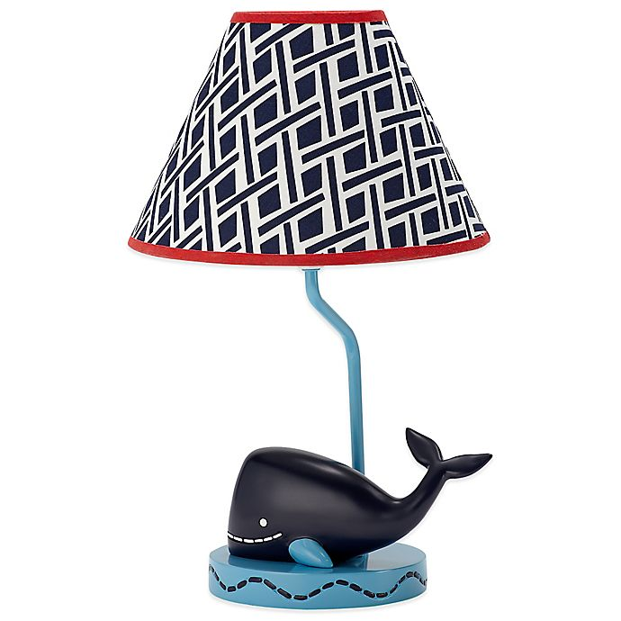 Alternate image 1 for Nautica Kids® Whale of a Tale Lamp and Shade