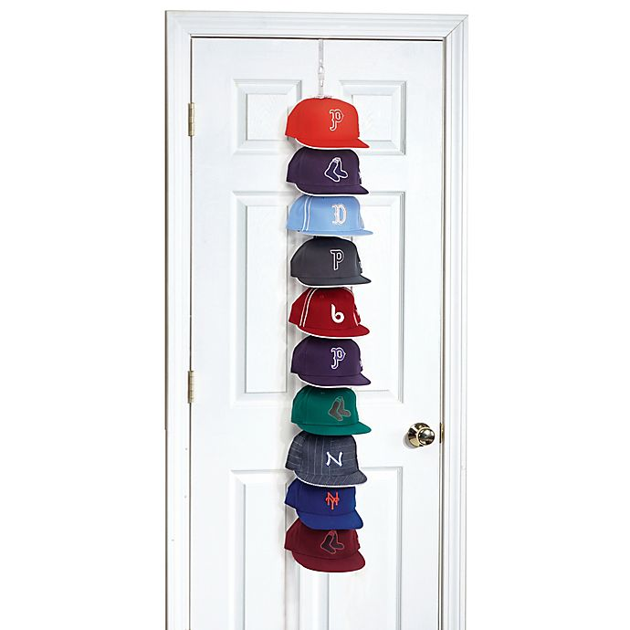 Alternate image 1 for Perfect Curve Cap Rack Pro™ in White