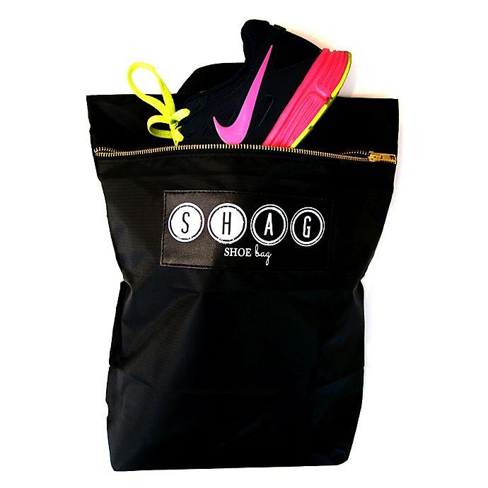 Alternate image 1 for Shag 2-Pack Shoe Bag in Black
