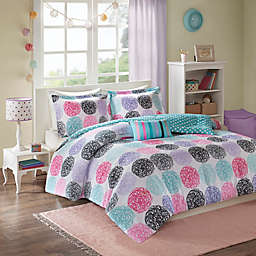 Mi Zone Carly Twin/Twin XL Comforter Set in Purple