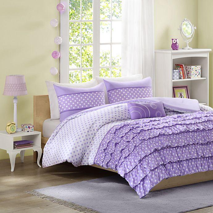 Alternate image 1 for Mizone Morgan Reversible Full/Queen Comforter Set