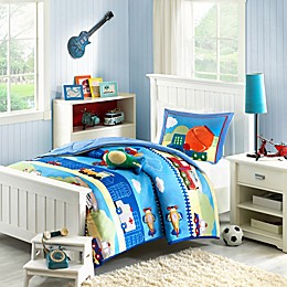Mizone Kids Totally Transit Reversible Comforter Set