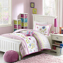 Mizone Kids Spring Bloom Reversible Full/Queen Comforter Set