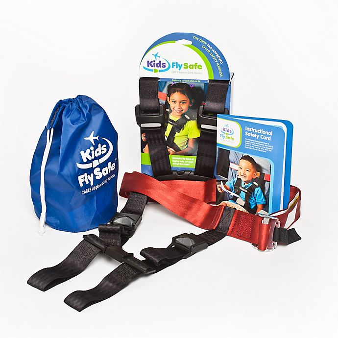 Alternate image 1 for Cares® Kids Fly Safe Airplane Safety Harness