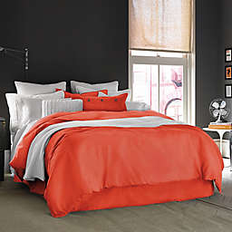 Kenneth Cole Reaction Home Mineral Twin Duvet Cover in Poppy
