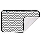 Planet Wise Designer Changing Pad in Grey Chevron