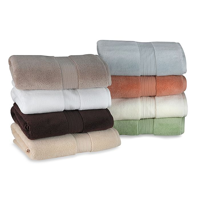 Alternate image 1 for Finest Cotton Bath Towel Collection