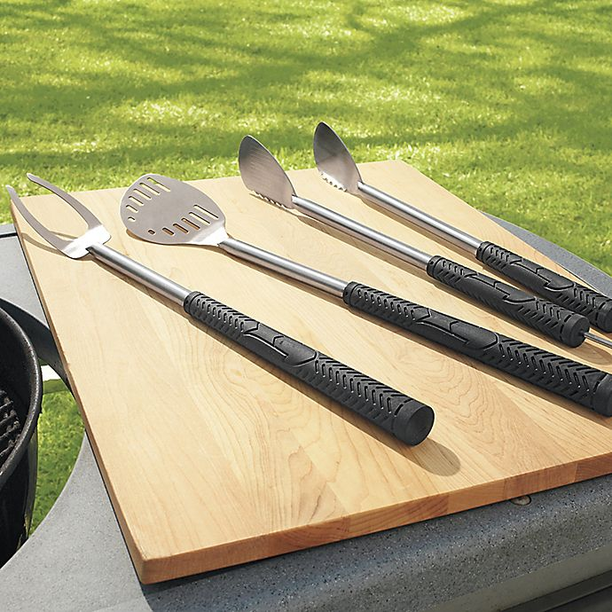Alternate image 1 for 3-Piece Stainless Steel Golf Club Style Grilling Tool Set