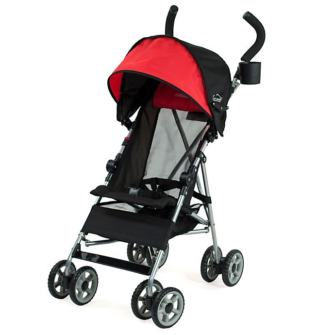 Alternate image 1 for Kolcraft® Cloud Umbrella Stroller in Red/Black