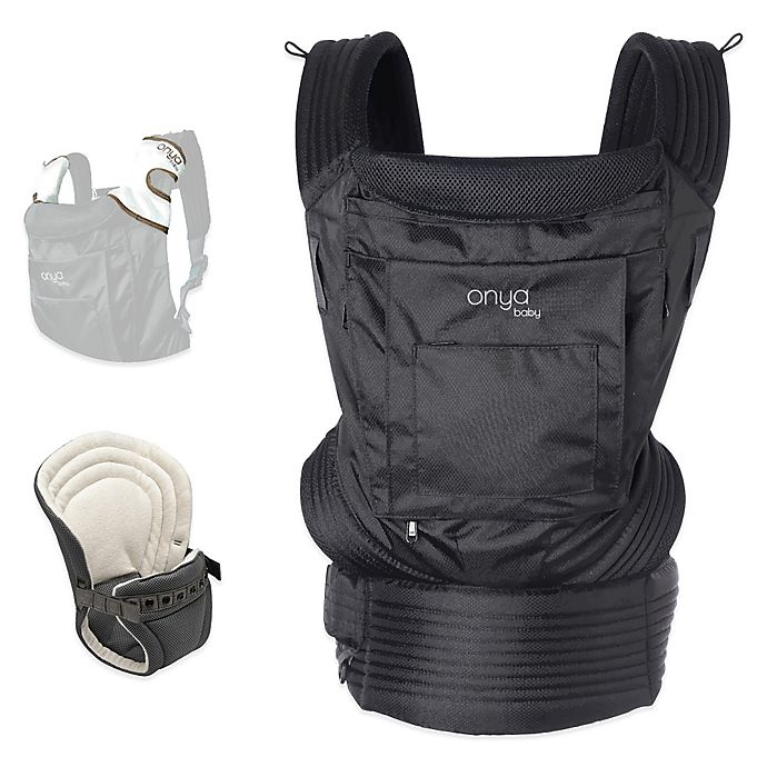 228f7e88ced Onya Baby Outback Bundle Baby Carrier in Jet Black