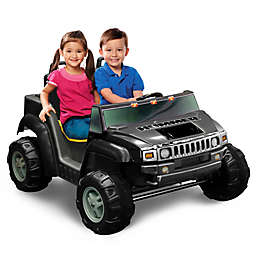 Kid Motorz Hummer H2 Two-Seater 12-Volt Ride-On in Black
