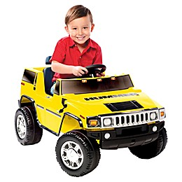 Kid Motorz Hummer H2 One-Seater 6-Volt Ride-On in Yellow