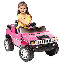 Kid Motorz Hummer H2 One-Seater 6-Volt Ride-On in Pink