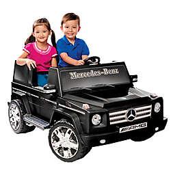 Kid Motorz Mercedes Benz G55 AMG 2-Seater 12-Volt Ride-On in Black