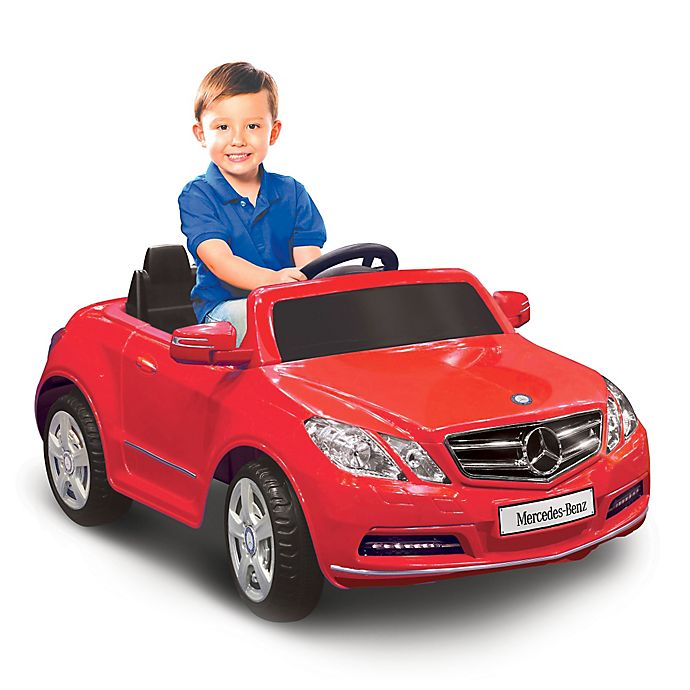 Alternate image 1 for Kid Motorz Mercedes Benz E550 1-Seater 6-Volt Ride-On in Red