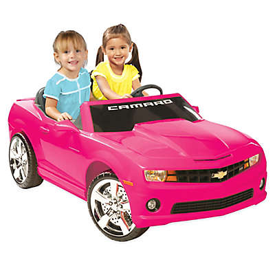 Kid Motorz Chevrolet Camaro 2-Seater 12-Volt Ride-On in Pink