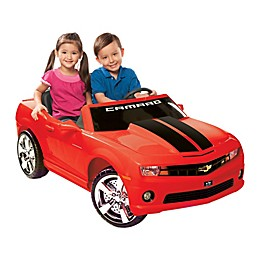 Kid Motorz Chevrolet Racing Camaro 2-Seater 12-Volt Ride-On in Red