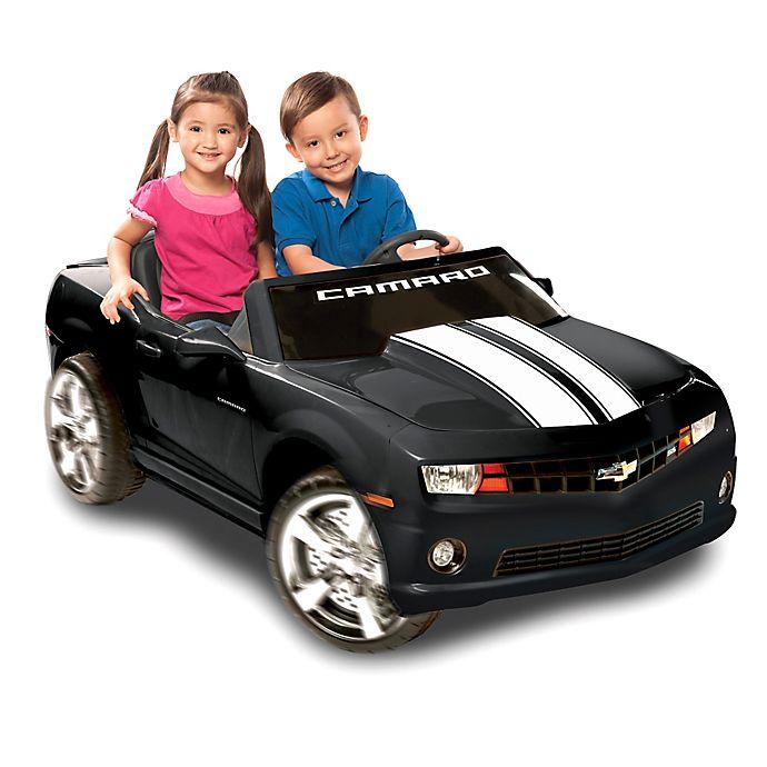 Alternate image 1 for Kid Motorz Chevrolet Racing Camaro 2-Seater 12-Volt Ride-On in Black