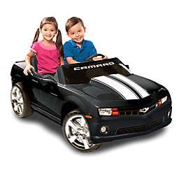 Kid Motorz Chevrolet Racing Camaro 2-Seater 12-Volt Ride-On in Black